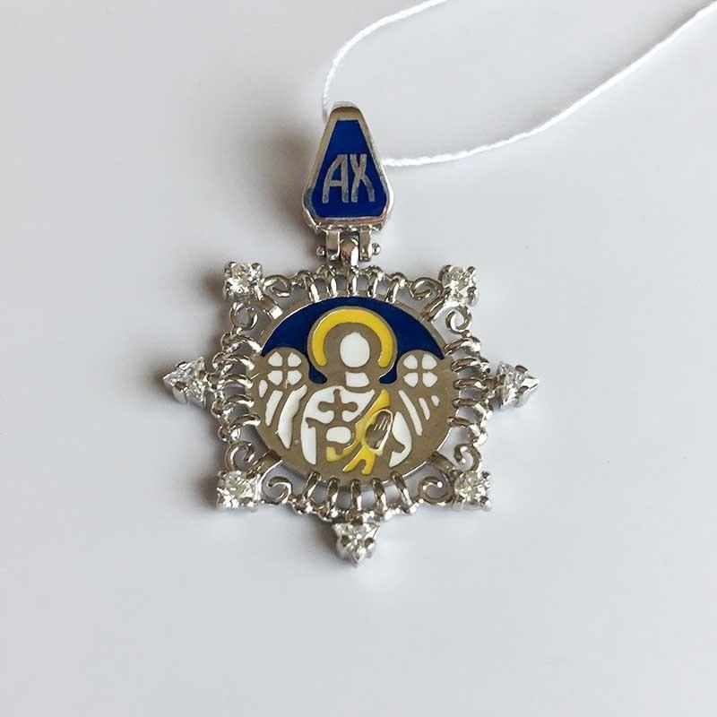 Серебряный подвес «Ангел Хранитель» (150280A)