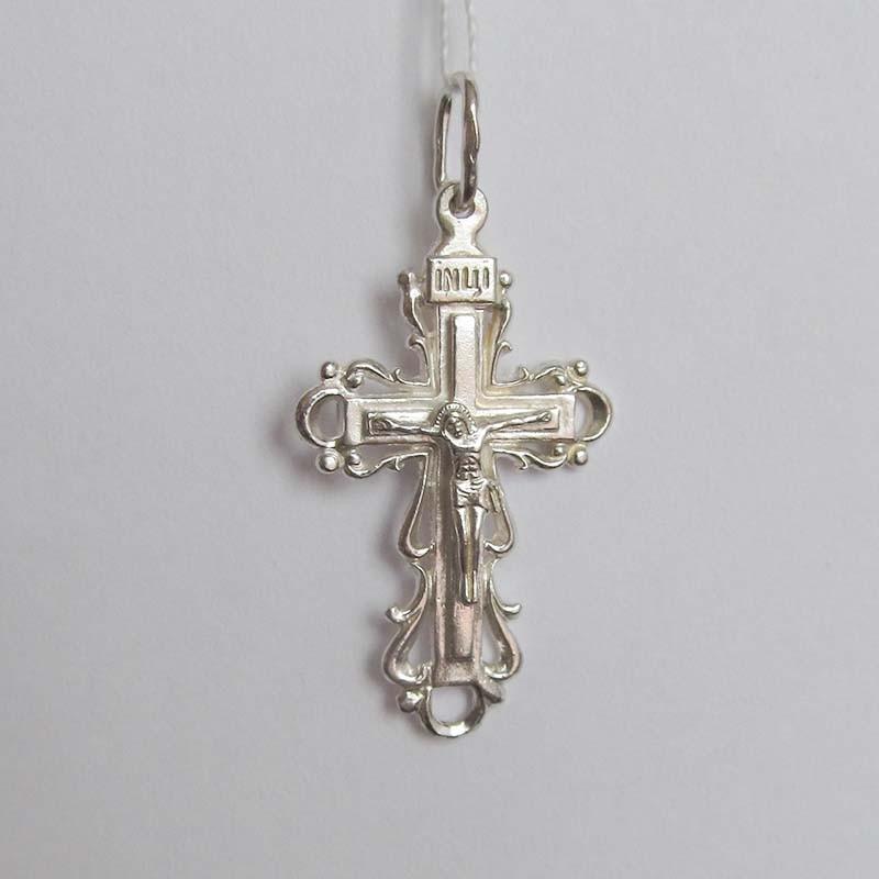 Серебряный крестик с Распятием (1.4.0023с)