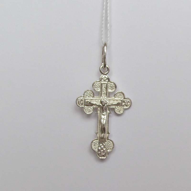 Серебряный крестик с Распятием (1.4.0295с)