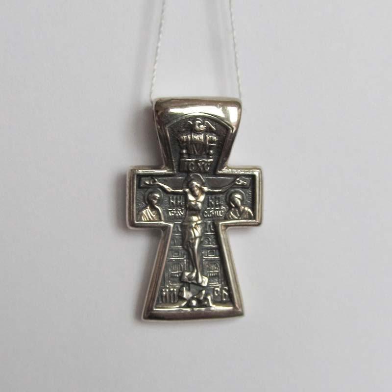 """Серебряный подвес """"Распятие Иисуса Христа"""""""
