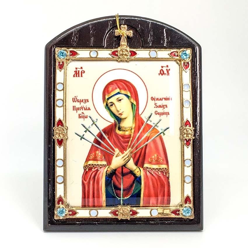 Икона Божией Матери Семистрельная (2.78.0798p)