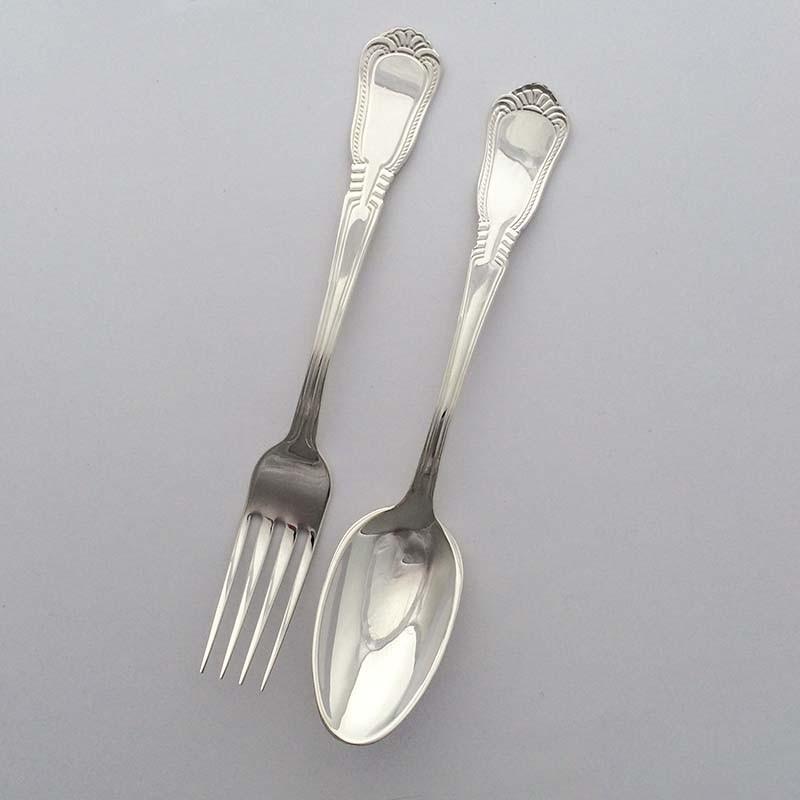Набор серебряных десертных приборов «Elegance - 2»