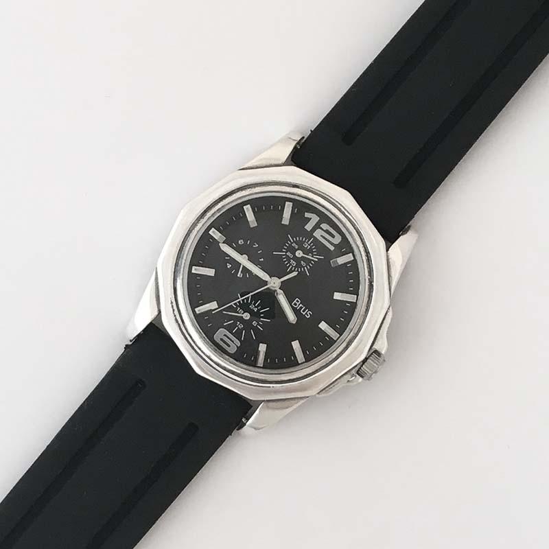 Мужские серебряные часы 7100064