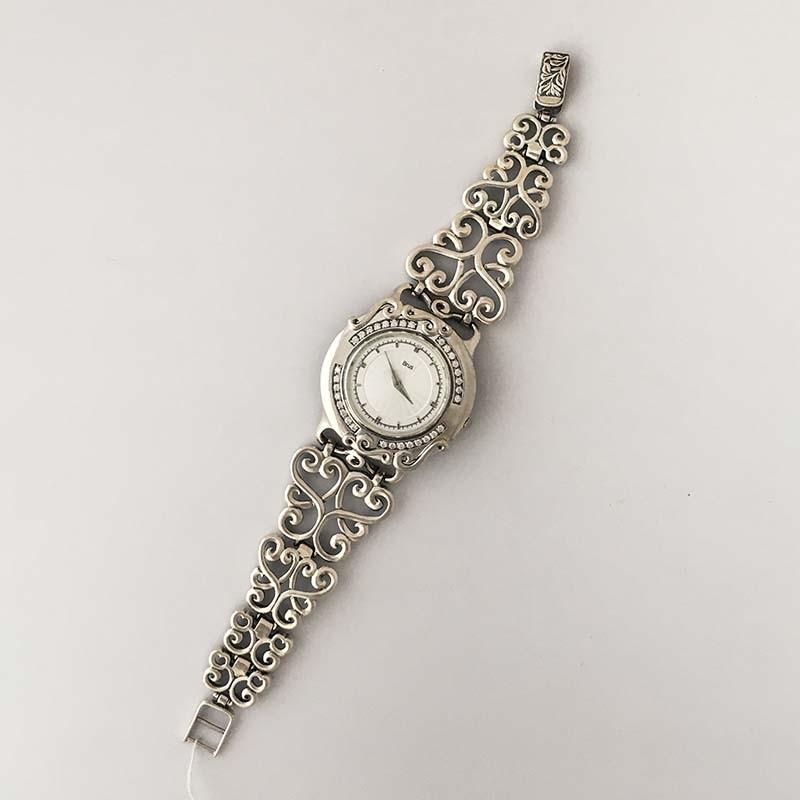 Женские серебряные часы 7110034