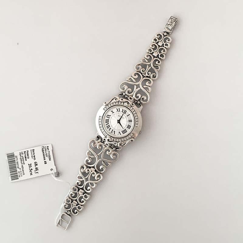 Срібний жіночій годинник7110034-1
