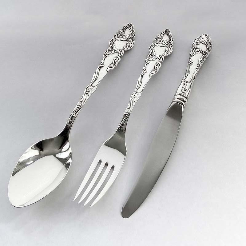 Набор серебряных столовых приборов «Идиллия -3»
