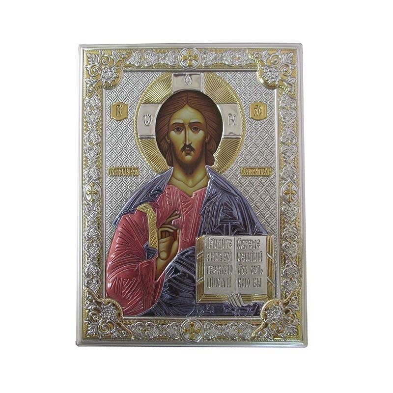 """Икона """"Спаситель"""" Valenti с эмалью (85300)"""
