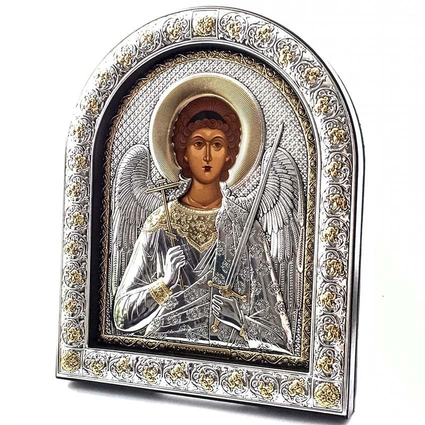 Икона Ангел Хранитель (26см х21 см) производитель Silver Axion (Afon Silver)