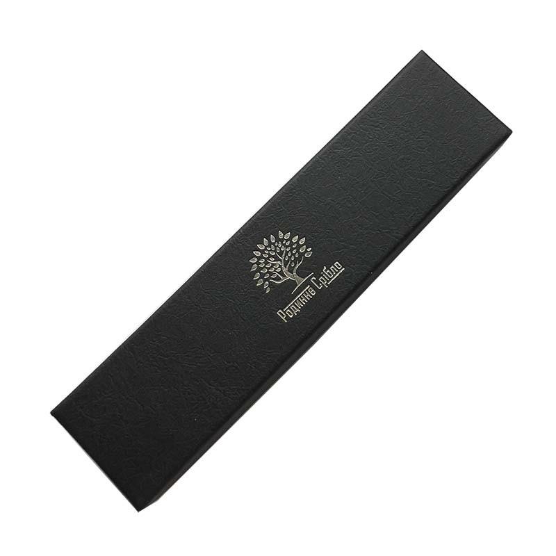 Подарочная упаковка Бренд черная