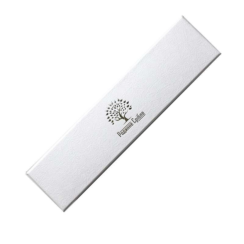 Подарочная упаковка Бренд белая
