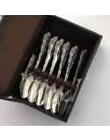 Набор серебряных чайных ложечек Идиллия