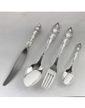 Набор серебряных столовых приборов «Идиллия -4»